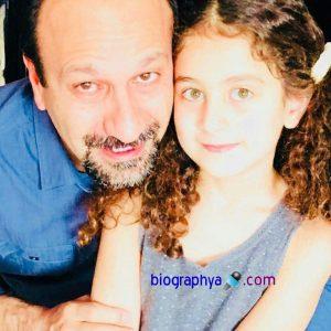اصغر فرهادی در کنار دخترش